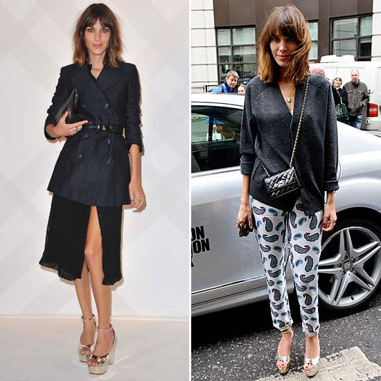 Alexa Chung's looks are the perfect argument for adding a pair of metallic heels to your Spring wardrobe. With a silver sheen, these are right on trend and make the transition seamlessly from dressed up to dressed down. 4815001