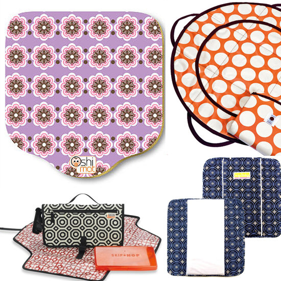 8 Stylish Diaper Pads For On-the-Go Changing