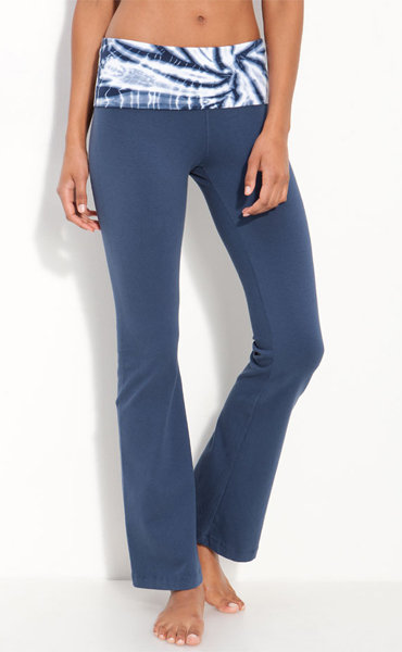 These Hard Tail Waist Flare Leg Pants ($74) have been my go-to pants of choice for years. They're comfy, never feel binding, and only get better with wear.