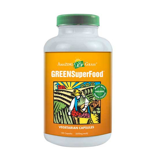 If cooking with spirulina is not in your future, have no fear. There are plenty of capsule forms to help make it an easy addition to your routine. I'm a fan of the Green SuperFood line from Amazing Grass. I pop a few of these babies in the morning with my other vitamins, and I'm good to go for the day.