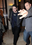 Robert Pattinson and Kristen Stewart Reunite For Date Night in Paris