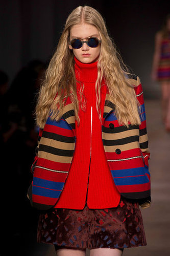 Carven Fall 2012 Runway