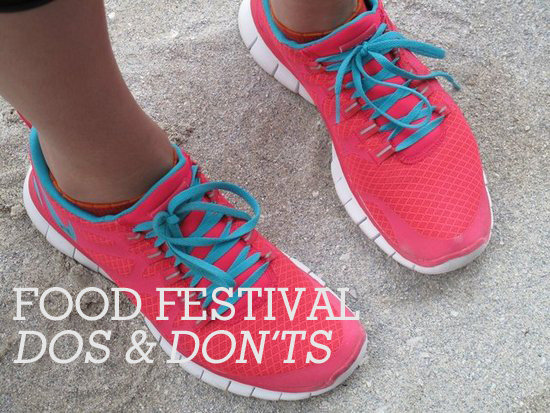 The Dos and Don'ts of Attending Food Festivals
