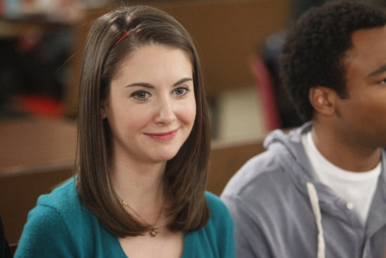 Alison Brie as Annie in Community. Photo courtesy of NBC