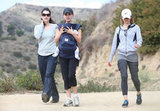 Natalie Portman and Aleph Millepied had a mommy-and-me hiking date.