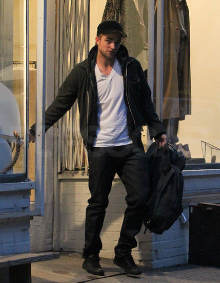 Robert Pattinson Shops in NYC While Kristen Stewart Makes Fashion Waves Overseas