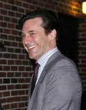 Jon Hamm in NYC.