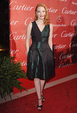 There's something about the way a rich green hue pops on a redhead that we love — case in point: Jessica radiates in Prabal Gurung at the 2012 Palm Spring Film Festival.