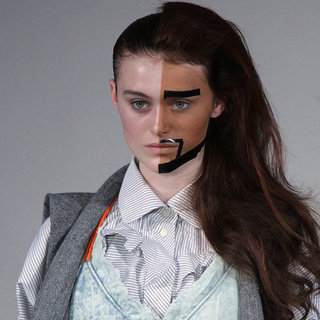 Bernhard Willhelm's Makeup For Fall 2012 Paris Fashion Week