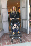 Rachel Zoe and Skyler Berman were out and about in Beverly Hills.