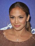 Jennifer Lopez at at American Idol event.