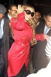 Mariah Carey wore sunglasses in NYC.