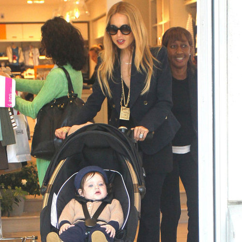 Rachel Zoe and Skyler Berman Pictures Shopping in LA