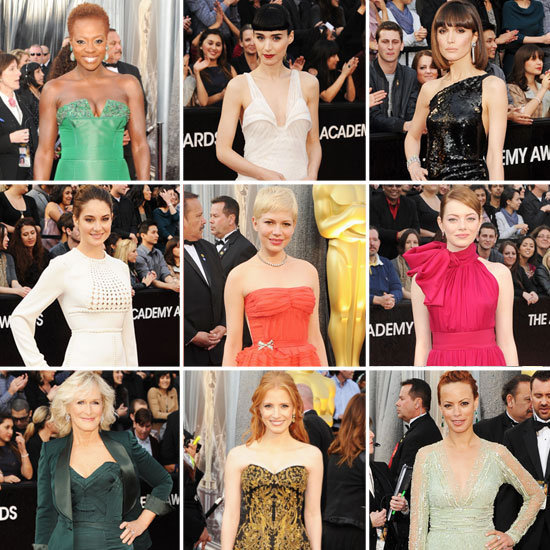 Don't miss a moment of the red carpet glam — here's who wore what to this year's Oscars!