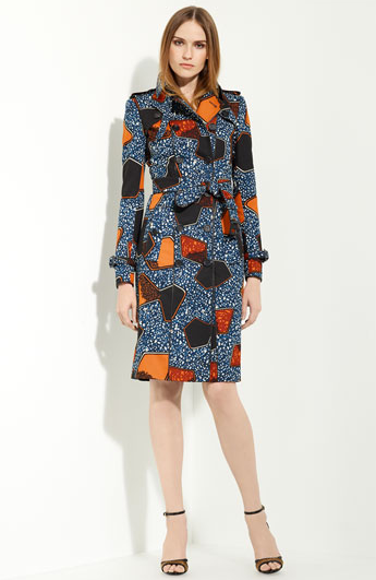 Burberry Prorsum Printed Cotton Trench ($2,995)