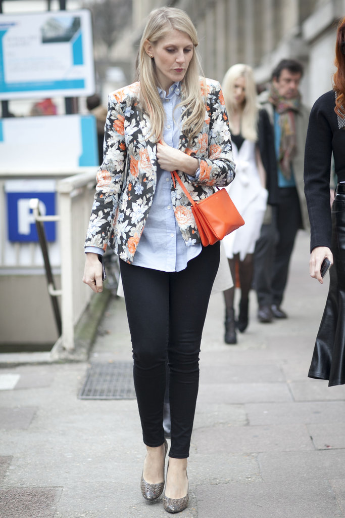 Looking for ways to wear that floral blazer? Right this way.