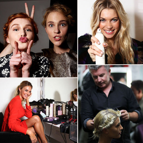 Backstage at Myer's Autumn/Winter 2012 Collection Launch