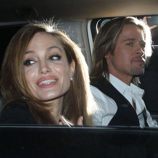 Brad Pitt and Angelina Jolie Pictures Going to NOLA Gala