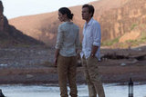 Emily Blunt and Ewan McGregor in Salmon Fishing in the Yemen. Photo courtesy of CBS Films