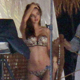 Miranda Kerr Lingerie Pictures in Miami Victoria's Secret