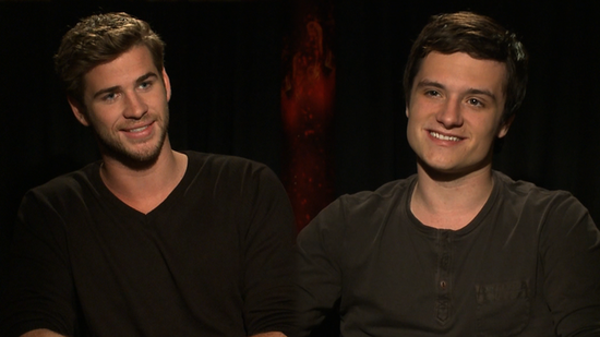 The Men of The Hunger Games Talk Heartthrob Status and Josh's Boy Band Past!