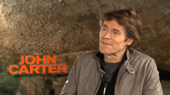 Willem Dafoe, Andrew Stanton, and Dominic West Dish on Their John Carter Journey to Mars