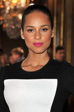 Alicia Keys attended the Stella McCartney Fall 2012 show.