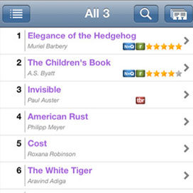 1001 Books to Read Before You Die iPhone App