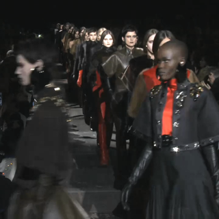 Givenchy Fall 2012 Runway Show