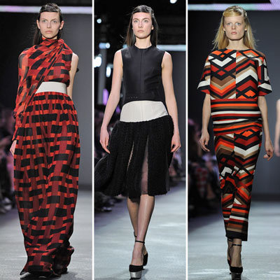 Review and Pictures of Giambattista Valli Autumn Winter 2012 Paris Fashion Week Runway Show