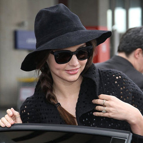 5 Celebrity Airport Long-Haul Flight Hairstyles