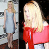 Dakota Fanning Red Stole