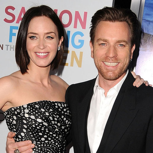 Emily Blunt and Ewan McGregor LA Premiere Pictures