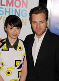 Eve Mavrakis posed with her husband Ewan McGregor.