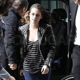 Kristen Stewart Continues Her Paris Fashion Tour at Louis Vuitton