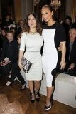 Salma Hayek and Alicia Keys checked out Stella McCartney.