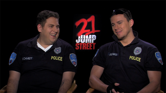 Channing Says He Never Loved a Costar as Much as Jonah — Except, of Course, Wife Jenna
