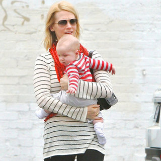 January Jones's Son Xander Pictures