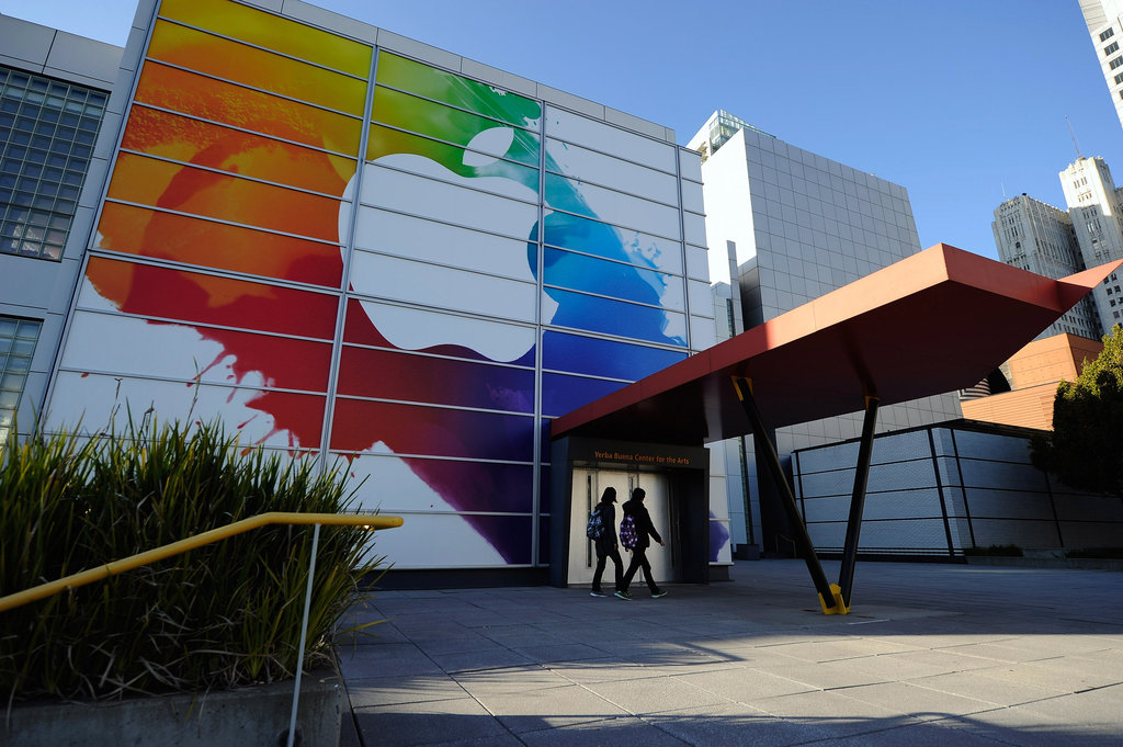 Apple's iPad event was held at the Yerba Buena Center For the Arts in San Francisco.
