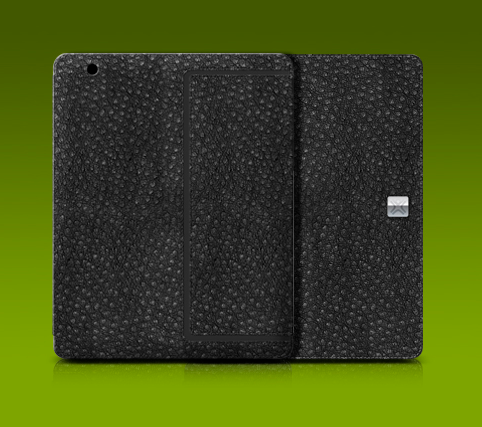 Thin Ostrich folio for iPad 2 ($50)