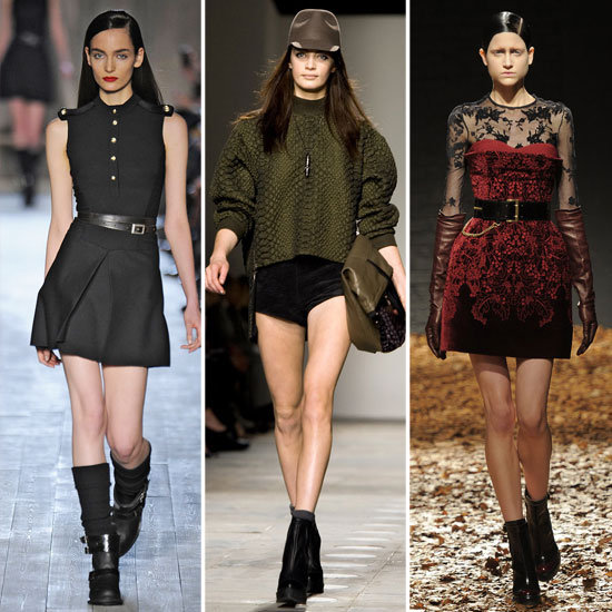 Runways Show Off a Military-Inspired Flair