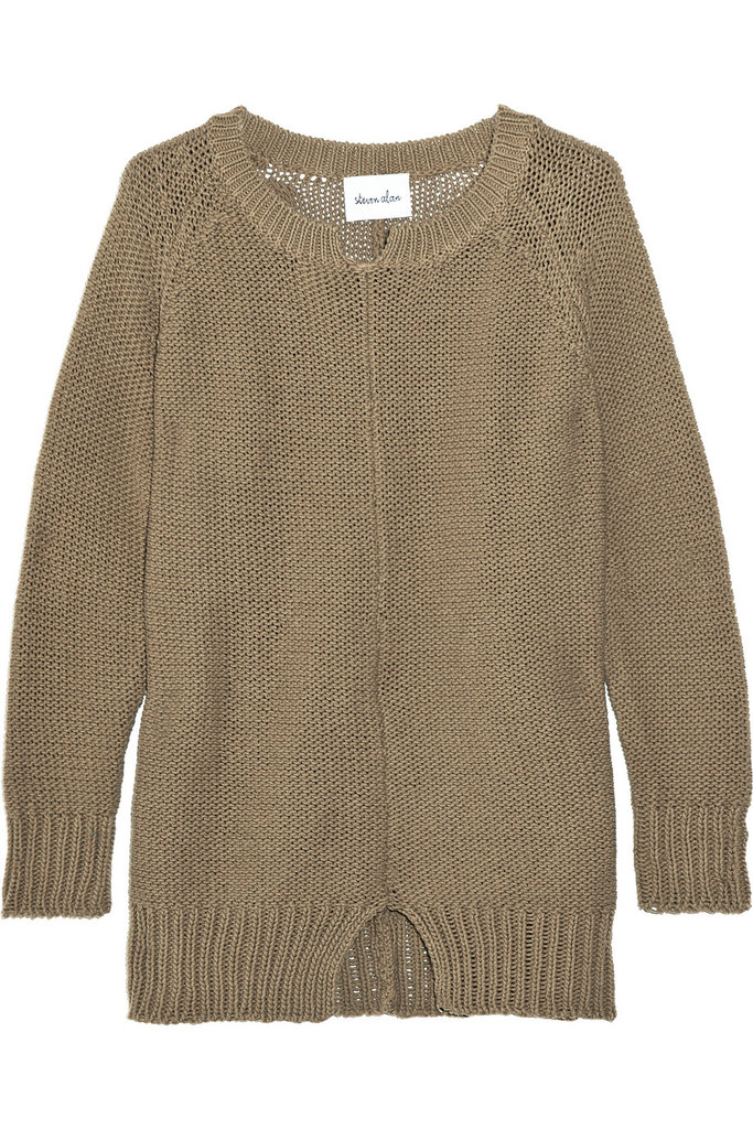 Steven Alan Reina Open-Knit Cotton Sweater ($75, originally $250)