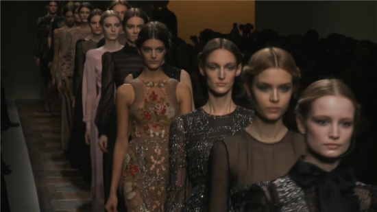 See the Entire Valentino Fall 2012 Runway Show!