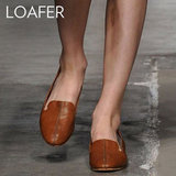 Why we love them: The cool iterations of the loafer have solidified it as a new favorite in our closets. Since Fall, the silhouette's had a resurgence as a sometimes edgier, sometimes preppier alternative to the ballet flat. How to wear them: Loafers are both easy to take to work and slip on off-duty. Add them to printed trousers and a blazer for your nine-to-five, then finish your jeans and t-shirt combos with a cool version on your days off. We especially love how they look with preppy-sweet pieces like a pleated miniskirt and a slouchy knit top.  Photo: Rachel Comey Spring 2012