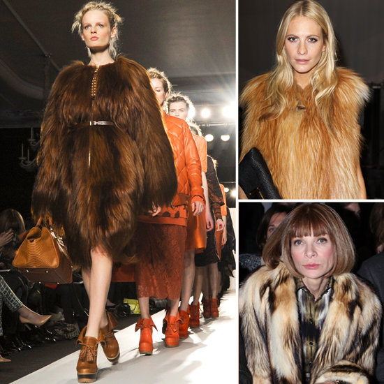 Brown Fur Trend for Autumn Winter 2012