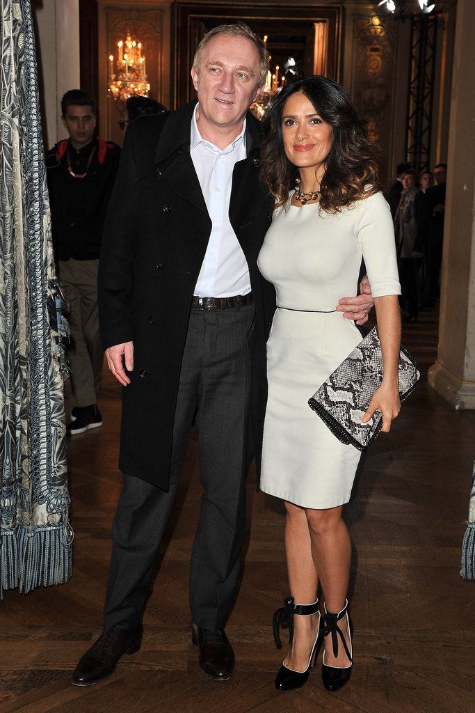 François-Henri Pinault and Salma Hayek at Stella McCartney