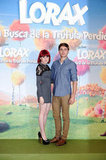 Zac Efron promoting The Lorax in Spain.