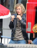 Chris Hemsworth went through choreography between takes.