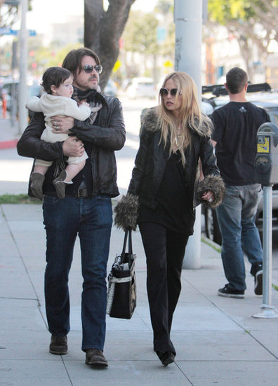 Rodger and Skyler Berman joined Rachel Zoe on a shopping trip.