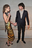 Natalia Vodianova and Antoine Arnault at the opening of the Louis Vuitton Marc Jacobs Exhibit in Paris.